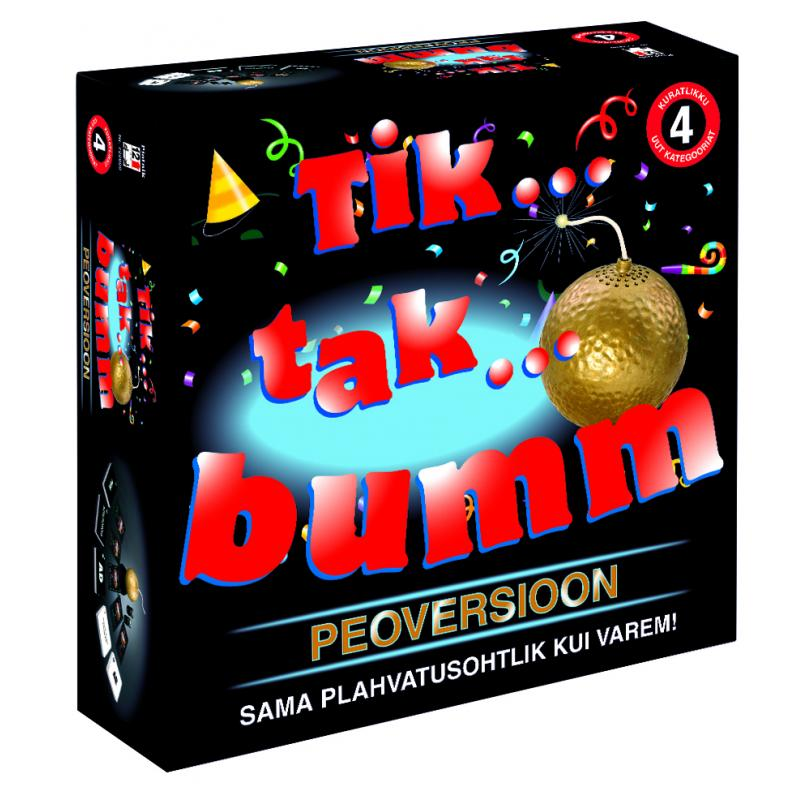 PIATNIK Tik Tak Pomm Party EST