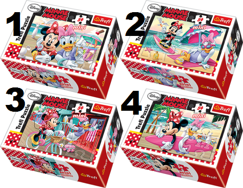 TREFL Mini 54 pusle Minnie hiir