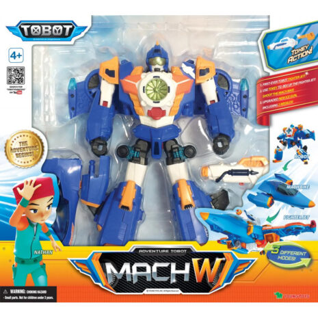 Privaatpostitus: YOUNG TOYS TOBOT Mach W figuur