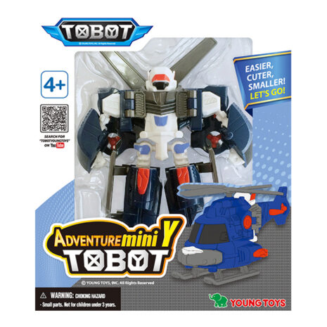 YOUNG TOYS TOBOT Mini Adventure Y figuur