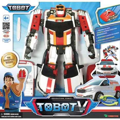 Privaatpostitus: YOUNG TOYS TOBOT V figuur