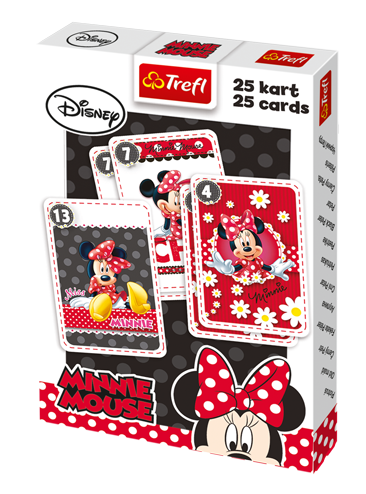 TREFL Kaardimäng Minnie Mouse