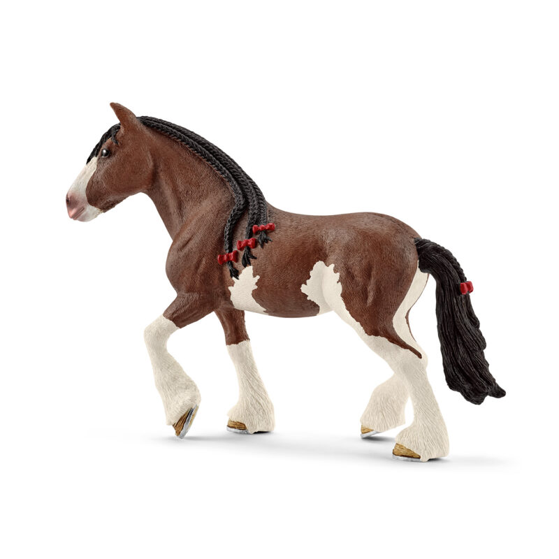 SCHLEICH FARM WORLD Clydesdale Mära