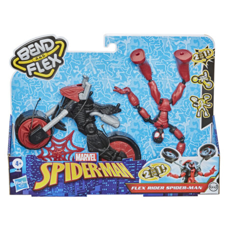Privaatpostitus: HASBRO SPIDER MAN Bend and flex sõiduk