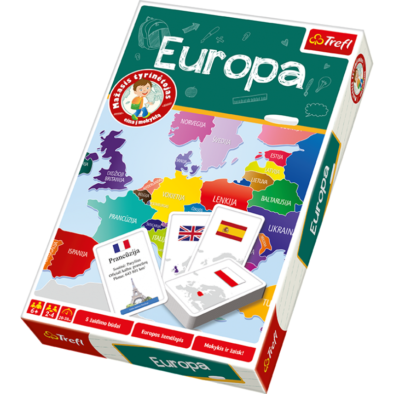 Educational game Europe (leedu keeles)