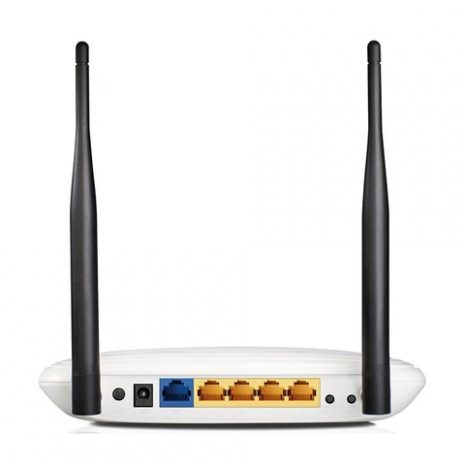 Wireless Router|TP-LINK|Wireless Router|300 Mbps|IEEE 802.11b|IEEE 802.11g|IEEE 802.11n|1 WAN|4×10/100M|DHCP|TL-WR841N