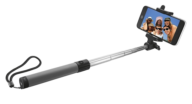 MOBILE ACC SELFIE STICK BLUETH/BLACK 21035 TRUST