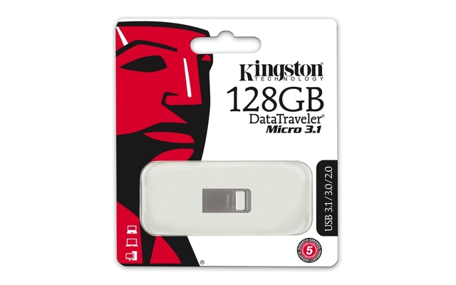MEMORY DRIVE FLASH USB3.1/128GB DTMC3/128GB KINGSTON