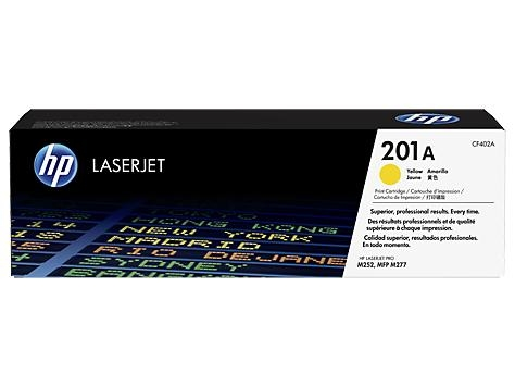 TONER YELLOW 201A /M252/M277/1.4K CF402A HP
