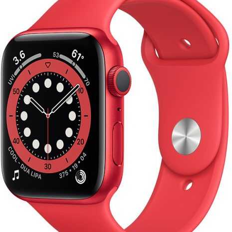 Apple Watch 6 GPS 44mm Sport Band (PRODUCT)RED