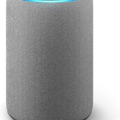 Amazon Echo Plus 2, heather grey