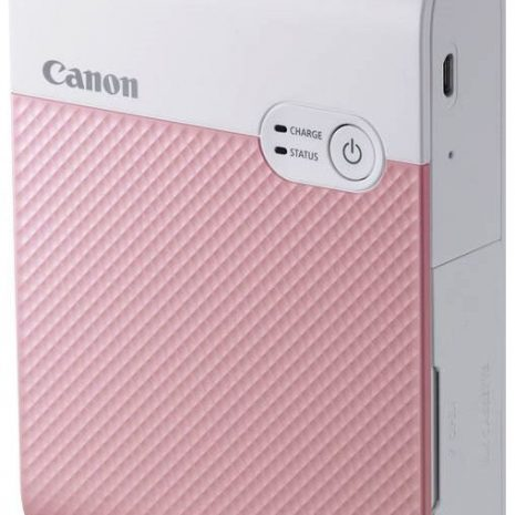 Canon fotoprinter Selphy Square QX10, roosa