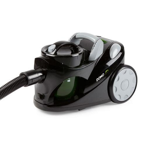 Vacuum Cleaner DOMO DO7271S Canister/Bagless Capacity 2 l Noise 78 dB Black Weight 4.55 kg DO7271S