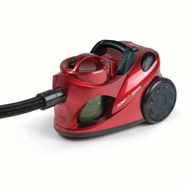 Vacuum Cleaner DOMO DO7279S Bagless Capacity 2 l Red Weight 5.8 kg DO7279S