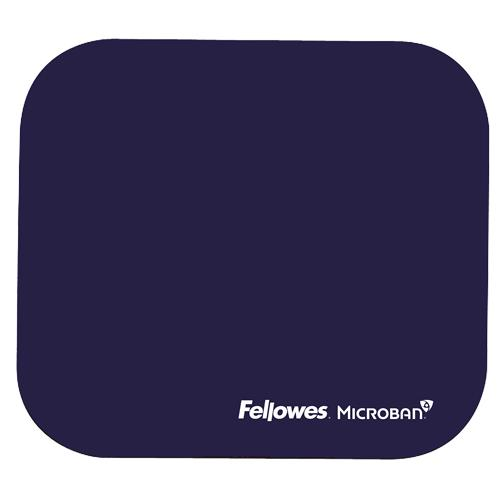 MOUSE PAD MICROBAN/BLUE 5933805 FELLOWES