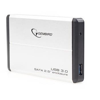 HDD CASE EXT. USB3 2.5″/SILVER EE2-U3S-2-S GEMBIRD